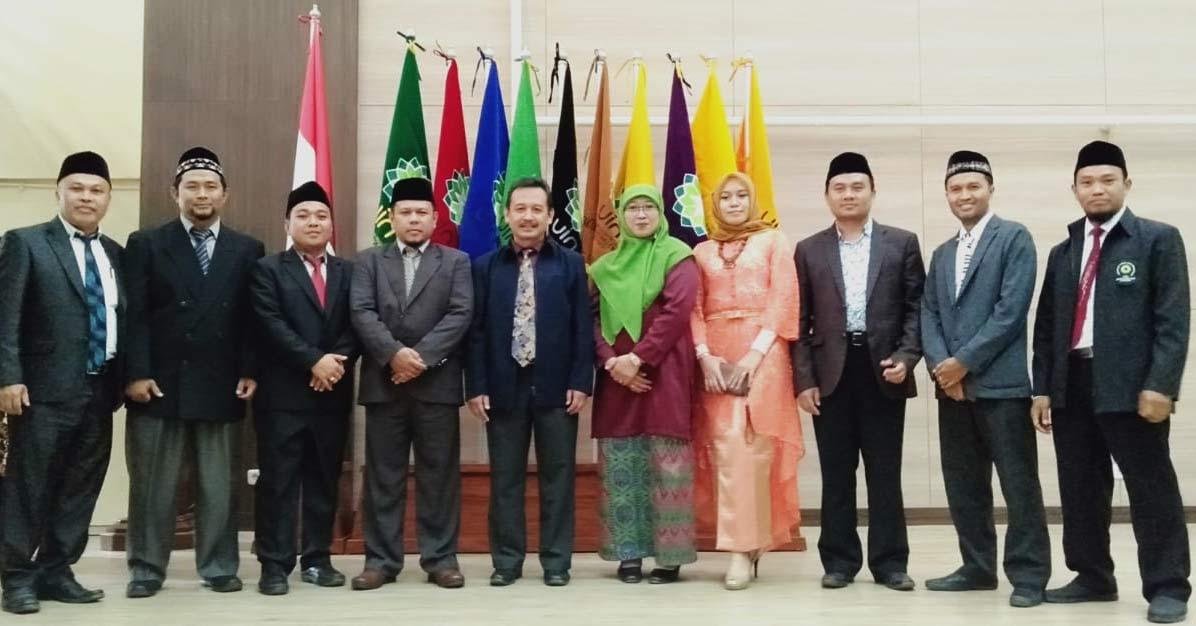 Pelantikan Pejabat UIN Bandung dari Dosen Sastra Arab