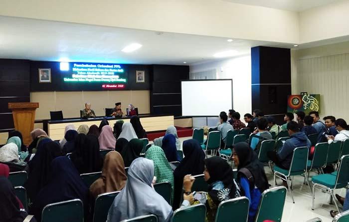 Pembekalan orientasi PPL Mahasiswa Bahasa & Sastra Arab UIN Bandung 2019