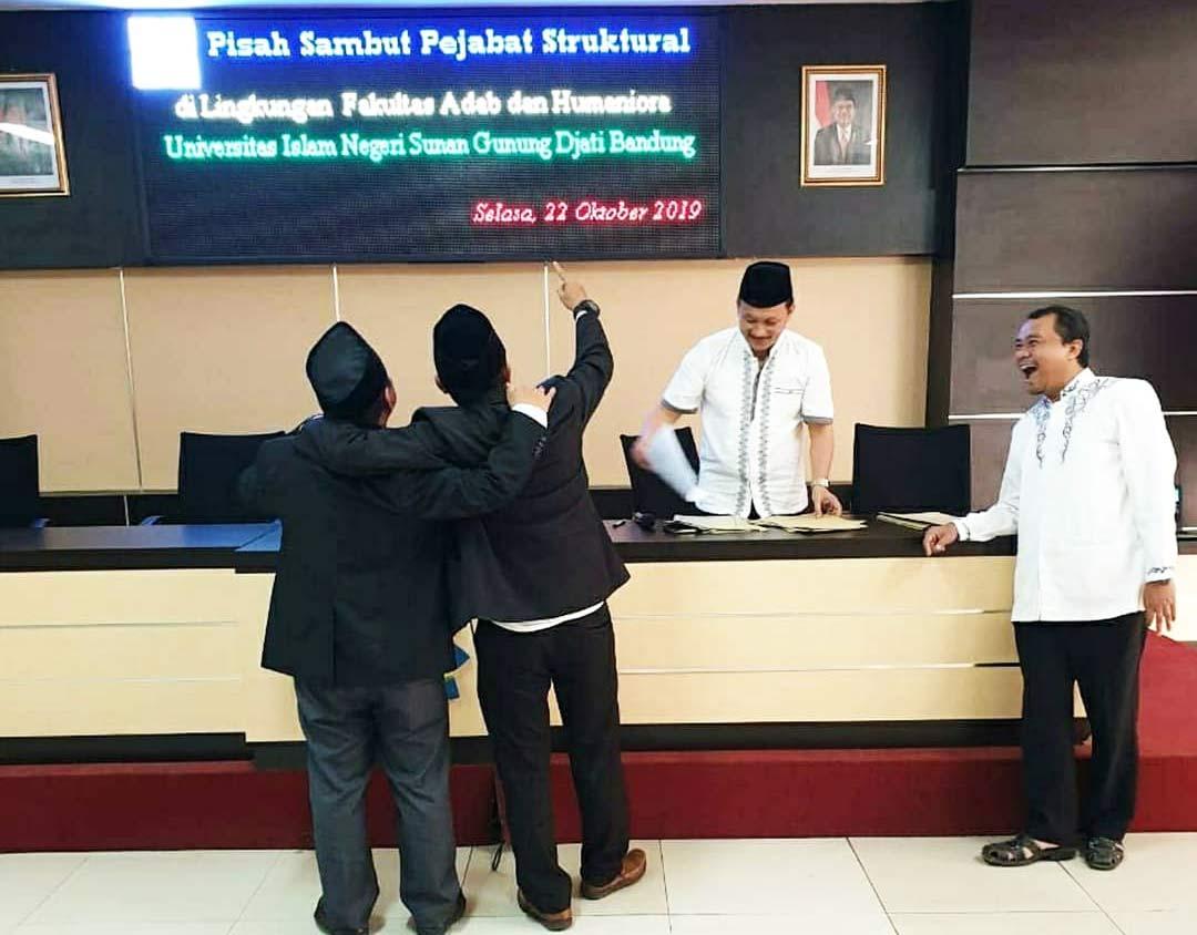 Acara Pisah Sambut Ketua Prodi Bahasa dan Sastra Arab UIN Bandung