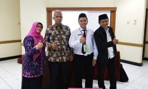 Irfan Addriadi, M.Pd.I. setelah selesai Seminar Evaluasi Hasil Aktualisasi CPNS 2019