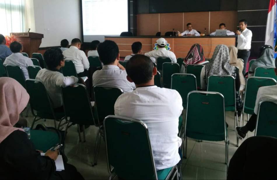Workshop Penyusunan Kurikulum KKNI dan OBE LPM UIN Bandung