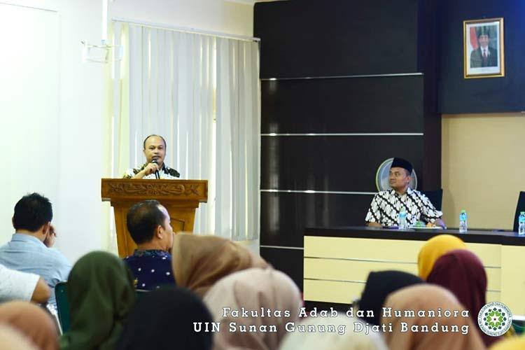 Seminar Bahasa dan Sastra Arab Pekan Ilmiah 2019 UIn Sunan Gunung Djati Bandung