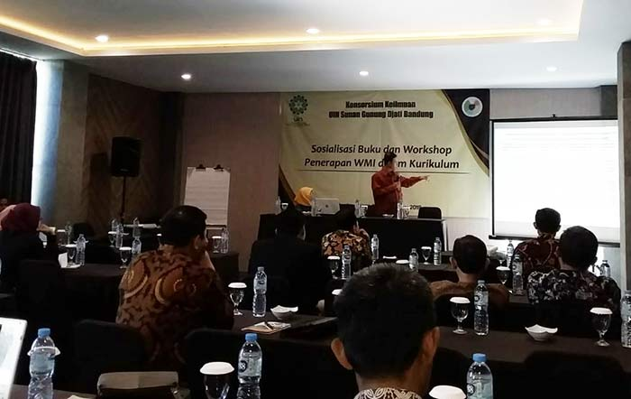 Sosialisasi dan workshop WMI di Nevanna Lembang, Kabupaten Bandung Barat