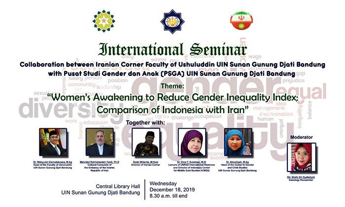 Seminar Internasional Kesetaraan Gender UIN Bandung