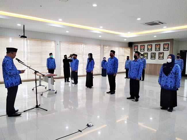 Pengambilan sumpah PNS UIN Bandung