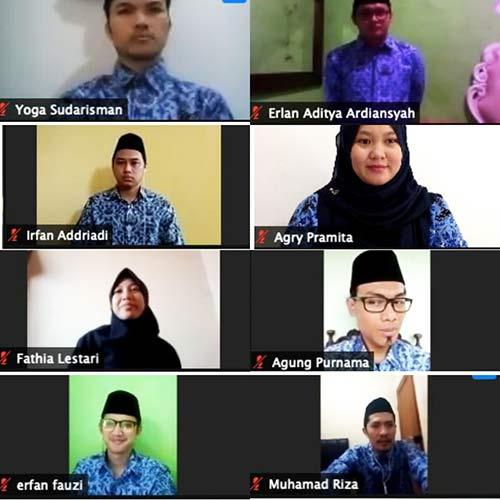 Pengambilan sumpah PNS Fakultas Adab dan Humaniora UIN Bandung